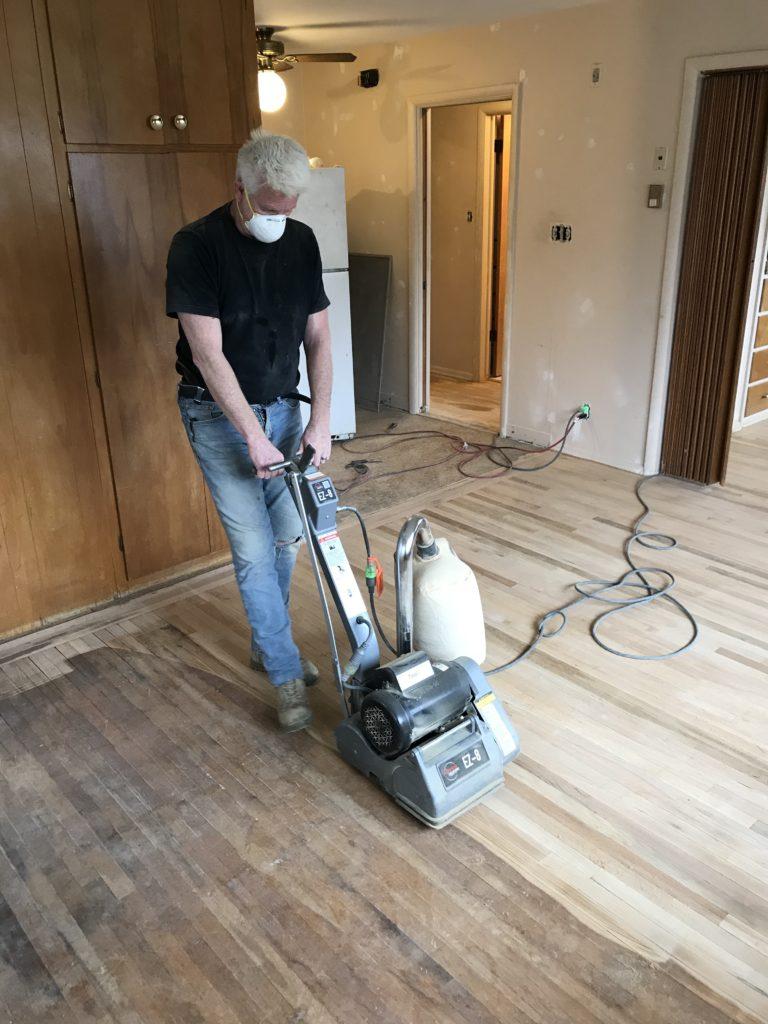 floor sander