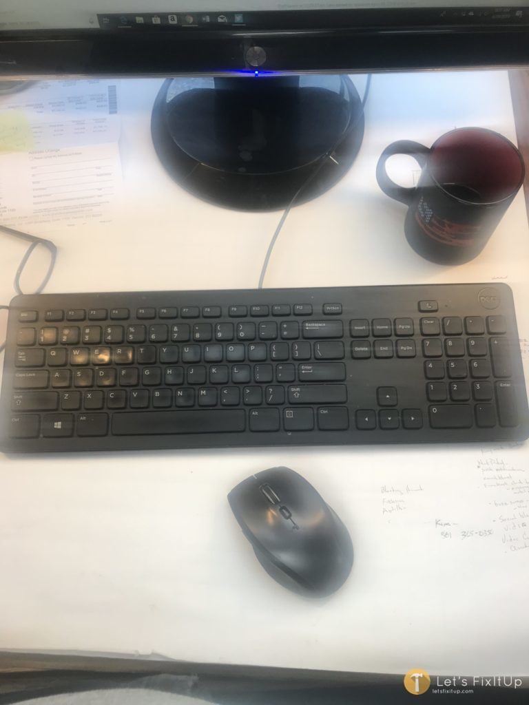 Cleaning Keyboard and Mouse