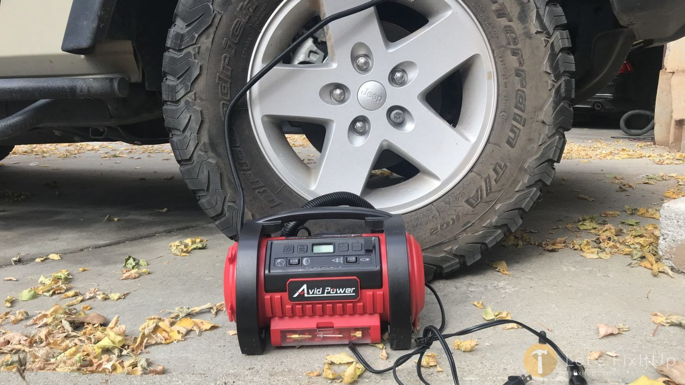 best tire inflator air compressor