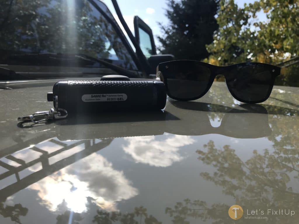 key chain pepper spray