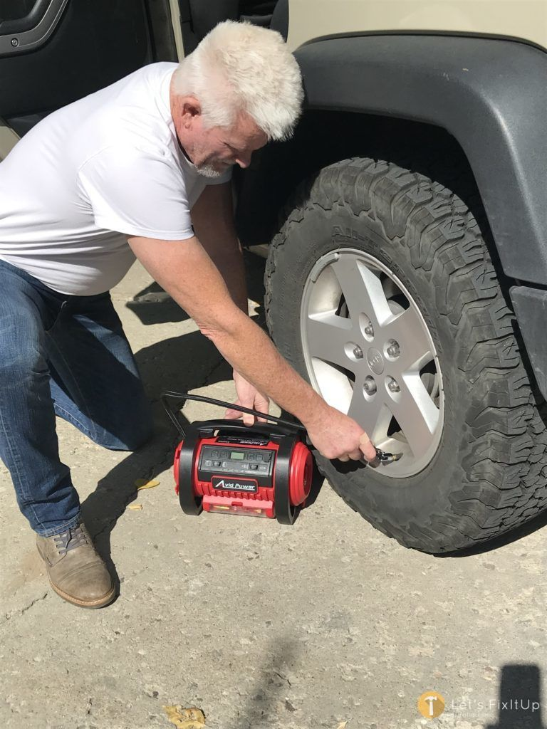 car tire inflator for road trips